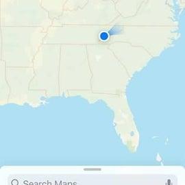 Location of Townsend KOA