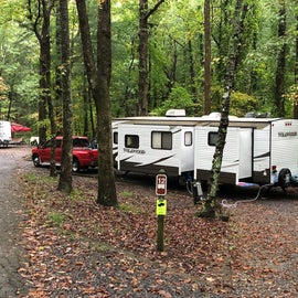 Site #12 in tent and trailer campground #1