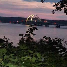Fenton Bridge at sunrise
