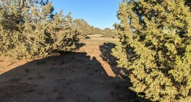 Hole in the Rock Road Dispersed at Utah 24