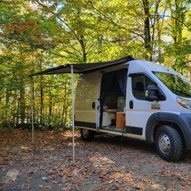 spacious camping