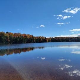 lake next to campground