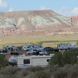 community or close proximity camping