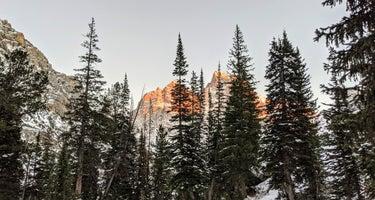 Cascade Canyon - North Fork