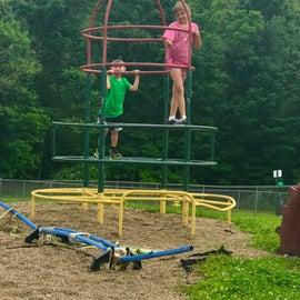 Part of the playground