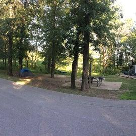 Panarama of our campsite