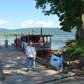 My first Visit to the Ferryboat Campsites and the  Millersburg Ferry