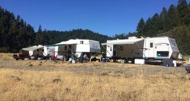 Rogue River Dispersed Campsites