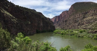 Gates of Lodore Campground - Dinosaur National Monument