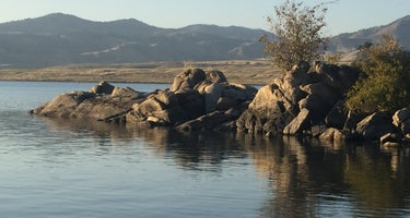 Jones Bay Campground - Lake Roosevelt National Rec Area