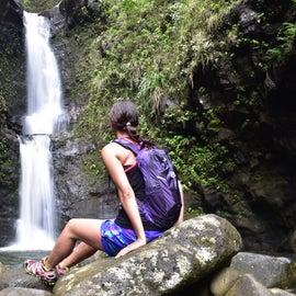 Hike nearby w/ waterfall