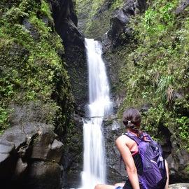 Love the waterfall