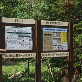 Campsite information