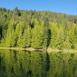 This is why its called mirror lake