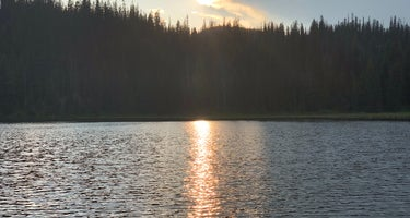 Lake Elsina - Dispersed