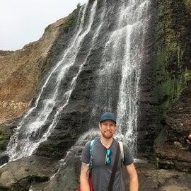 Alamere Falls, a short mile trek from Wildcat Campground