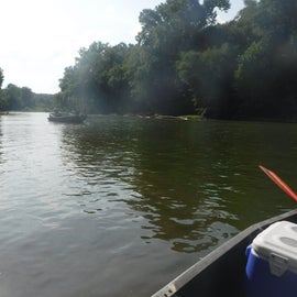 Meramec short float from Old Cove