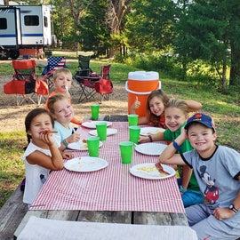 Kids Breakfast Table
