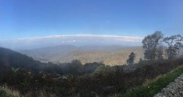 Shenandoah Mountain Campsite