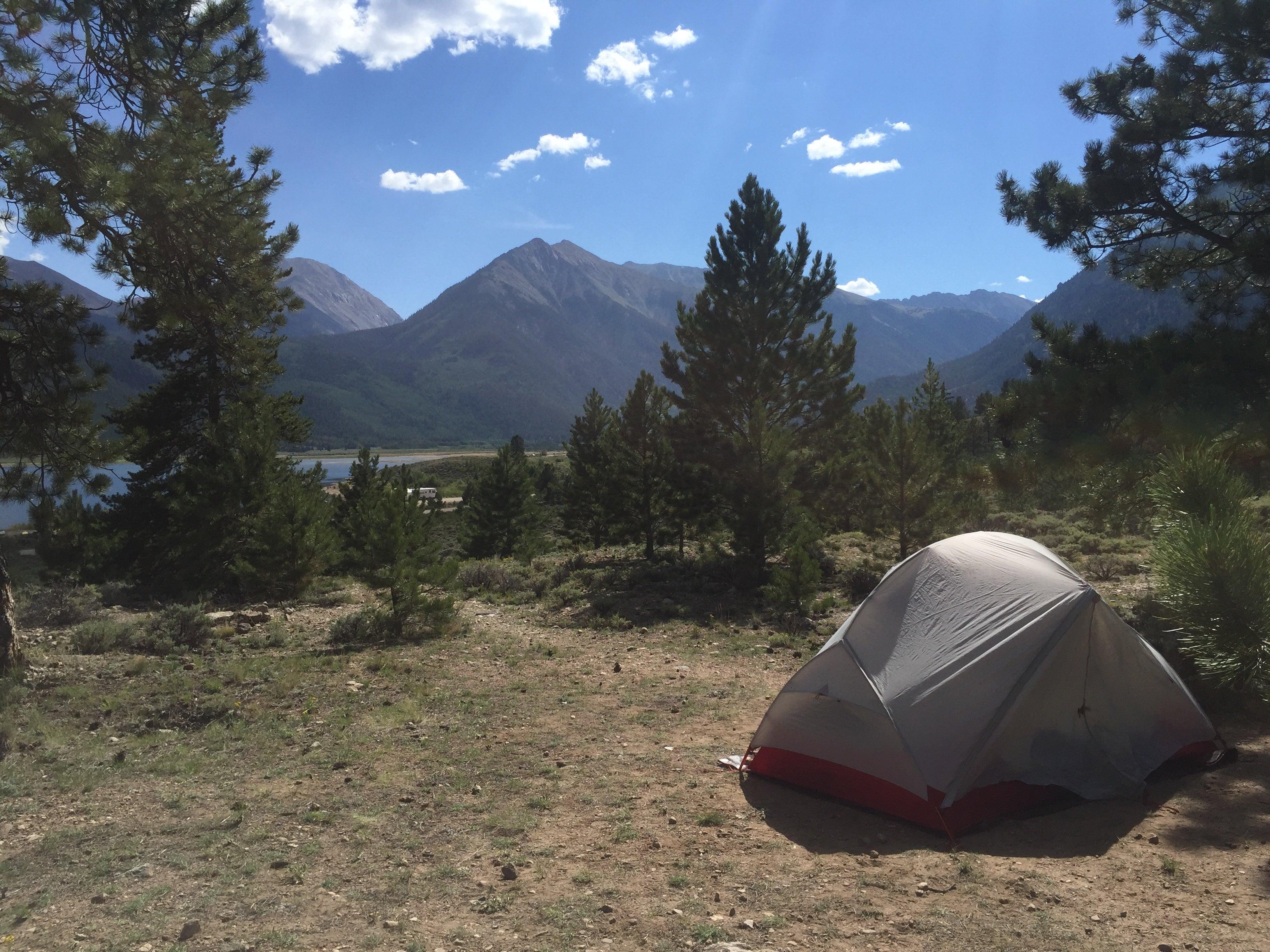 Camping in Raymond