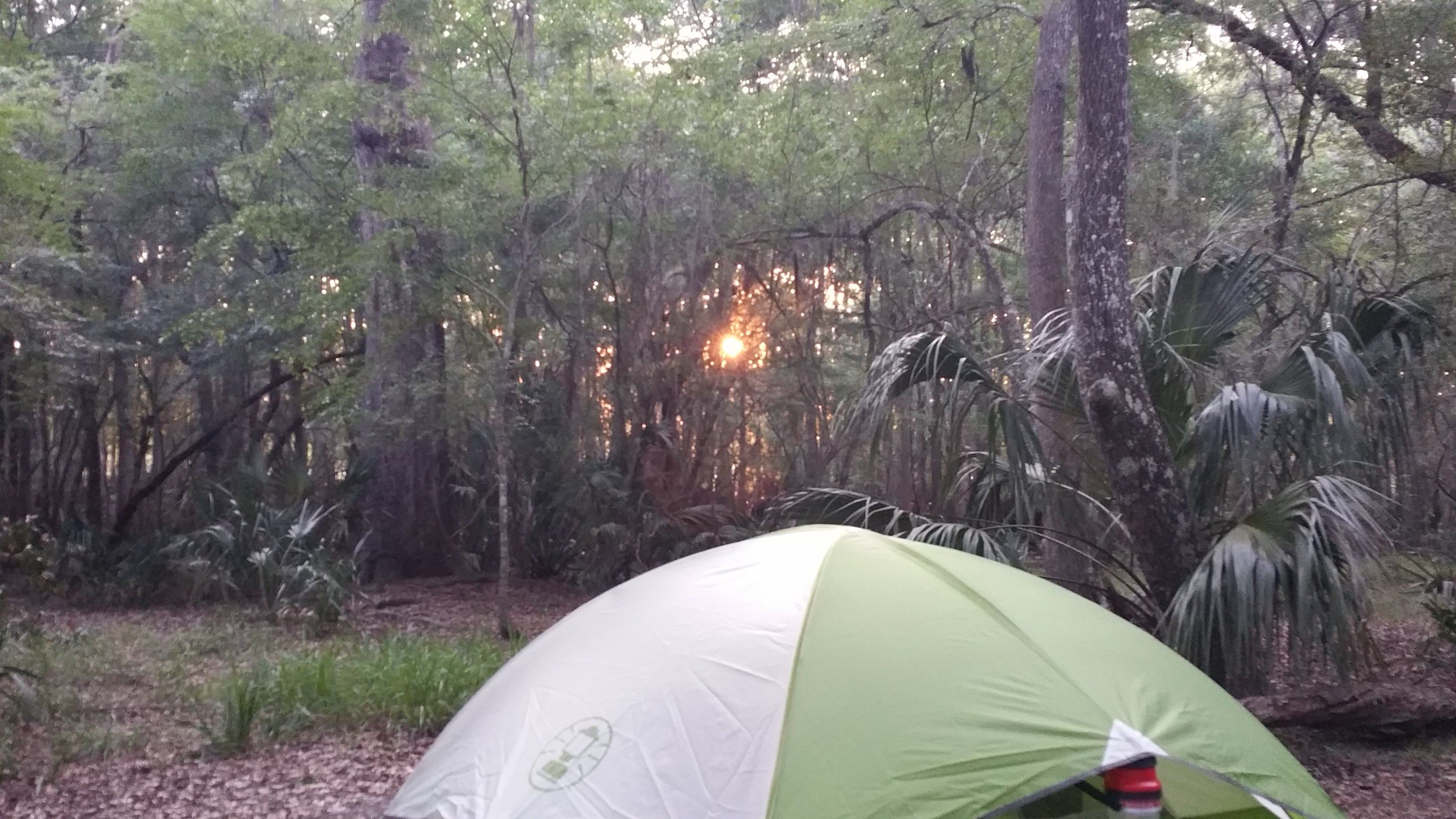 Camping in Broadview