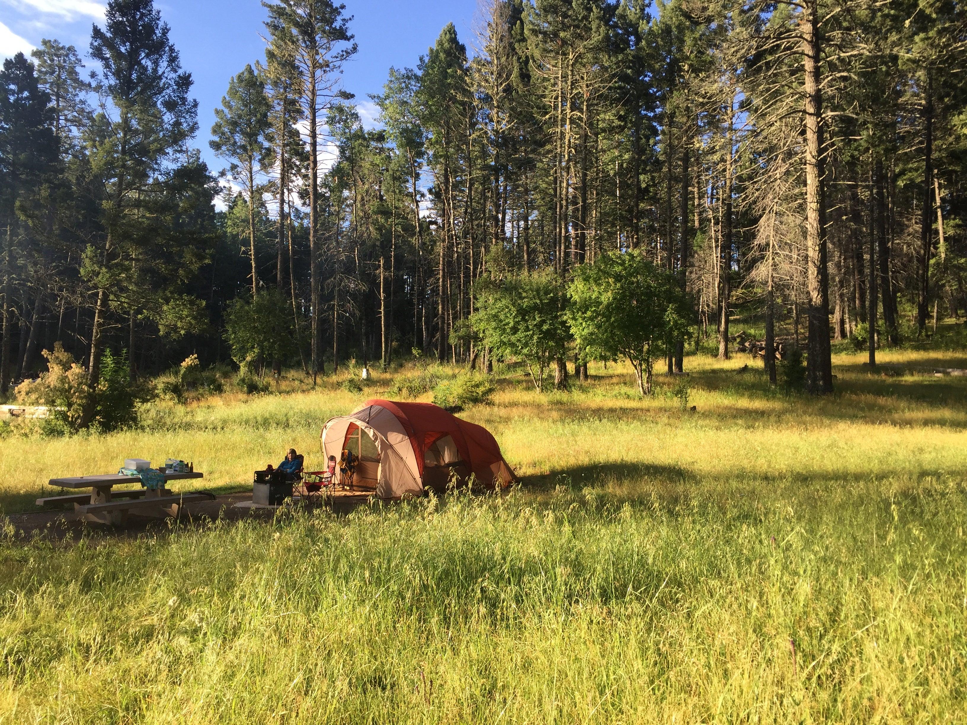 Camping in Guique