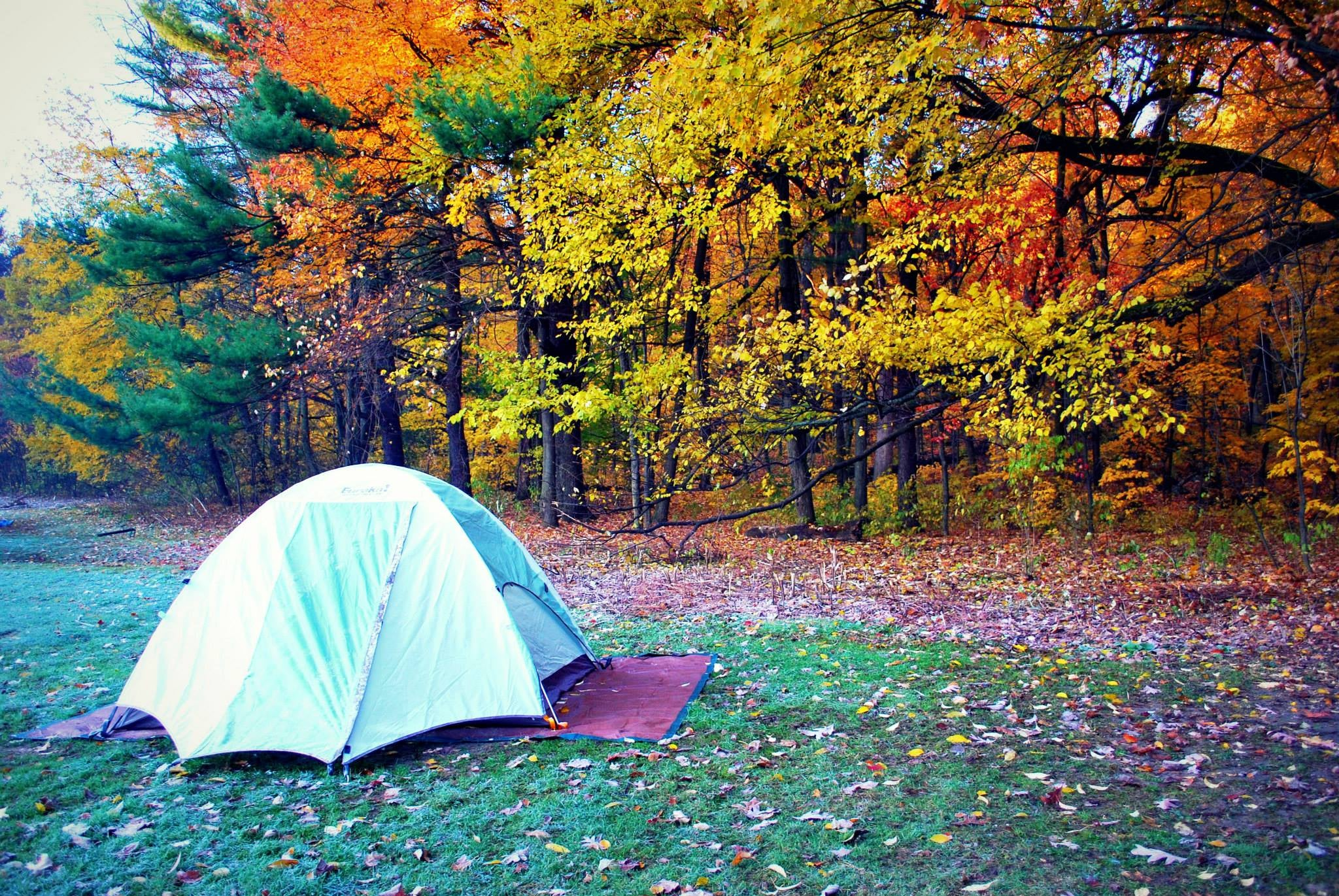 Camping in Winnebago Mission